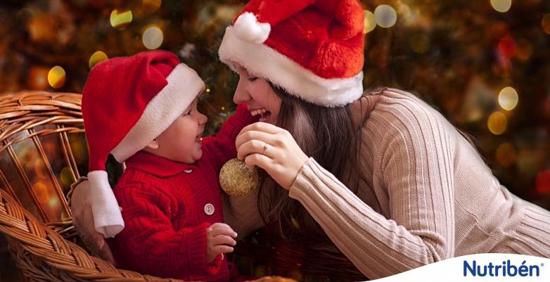 primeras navidades con bebe, navidad y bebe, especial navidades