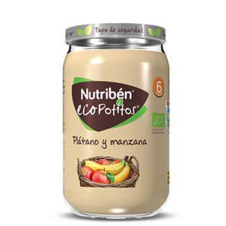 Nutribén Ecopotito Plátano y manzana