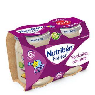 Nutriben® Potitos® Verduritas con pavo