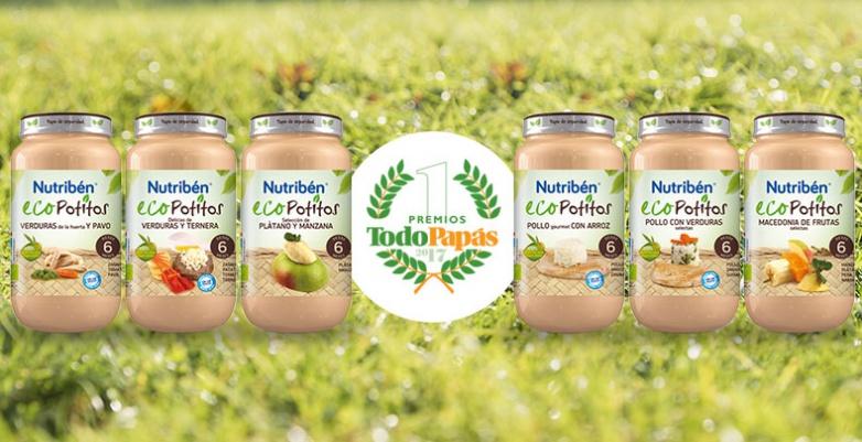 Ecopotitos® galardonados en la XI edición de los premios TodoPapás