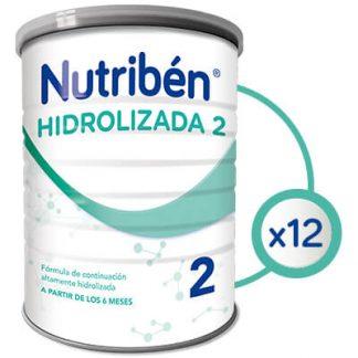 Fórmula especial Nutribén Hidrolizada 1 Fórmula especial Nutribén hidrolizada 2-12