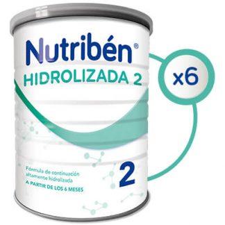 Formula especial Nutribén hidrolizada 2 6