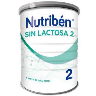 Fórmula especial Nutribén sin lactosa 2