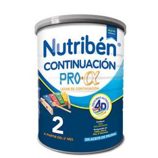Leche infantil Nutriben Continuacion Pro Alfa 400