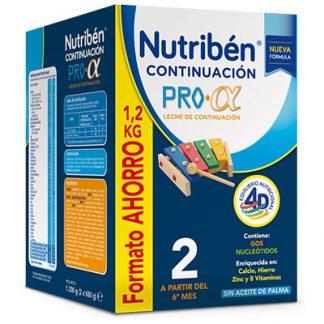Leche infantil Nutriben Continuacion Pro Alfa Formato Ahorro