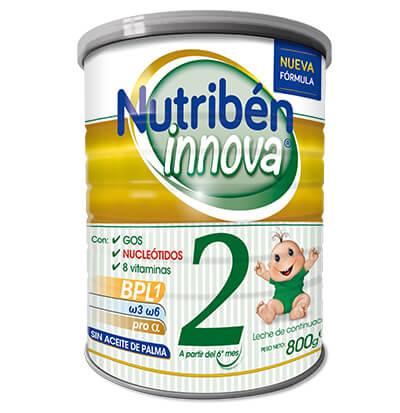 Nutriben Innova 2 Leche sin aceite de palma