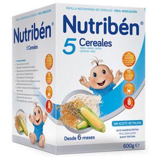 Nutribén 5 cereales 600