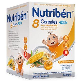 Nutribén 8 Cereales con un toque de miel Calcio 600