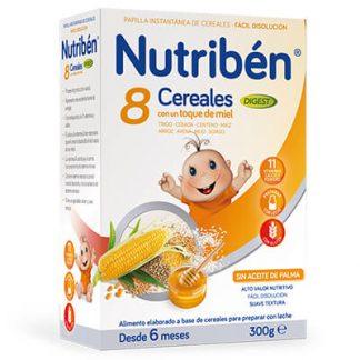 Nutribén 8 Cereales con un toque de miel Digest 300