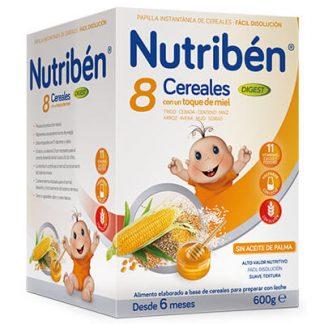 Nutribén 8 Cereales con un toque de miel digest 600