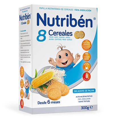Nutribén 8 Cereales galletas María 300
