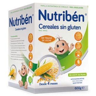 papilla Nutribén cereales sin gluten