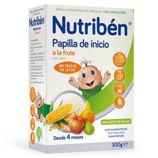 Papilla Nutribén inicio a la fruta