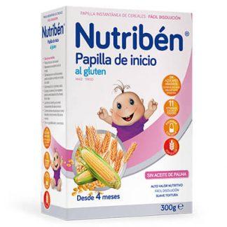 Papilla Nutribén inicio al gluten