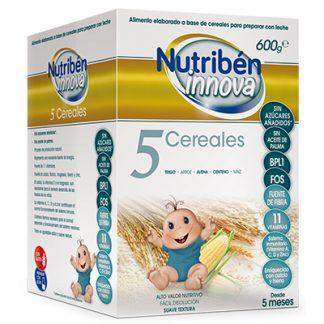 Papilla Nutribén Innova 5 Cereales