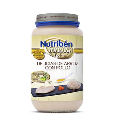 Nutribén Potito Delicias de arroz con pollo