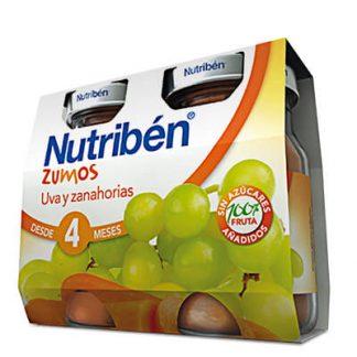 Zumo Uva y zanahoria Nutribén